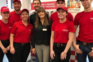 Five Guys Launch Level 2 & 3 Apprentices Square
